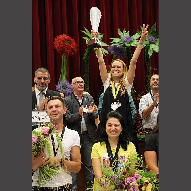 Открытый чемпионат Греции по флористике 2018, часть 2.