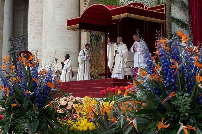 Пасхального оформления на площади Святого Петра в Ватикане не будет.