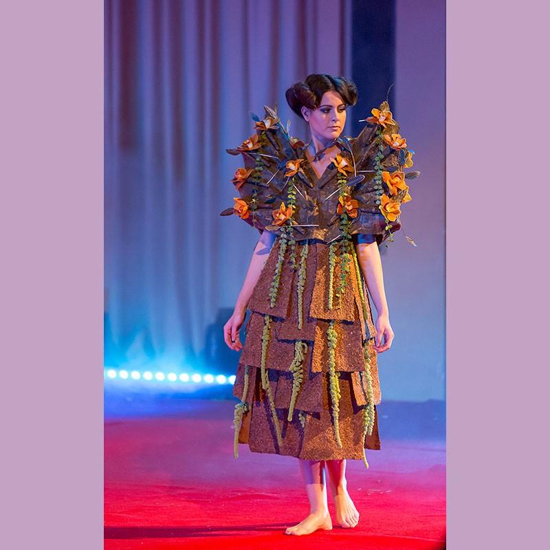 Вспоминая Геную. The Food Floral Fashion Show.