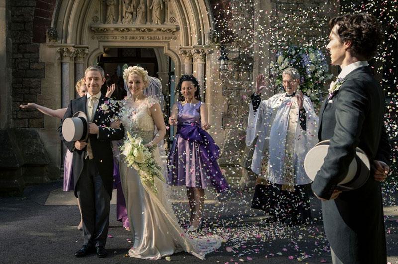 Сериальные невесты и их букеты. Часть 3.
