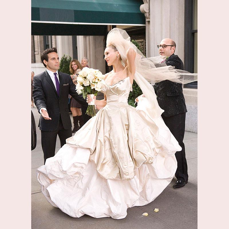 Сериальные невесты и их букеты. Часть 4.