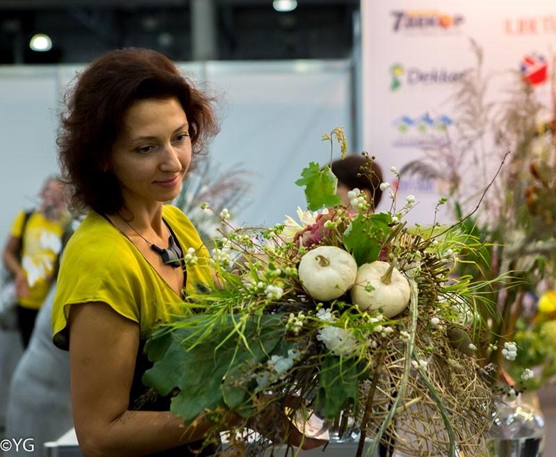 Выставка Цветы-2020, Москва.